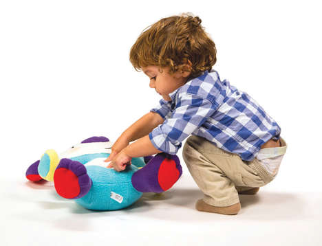 Plush Wellness Toys - The Doodle Toy Monitor's a Child's Health and Wellness Through Play