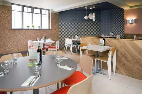 Casual Mediterranean Interiors - This Italian Restaurant Interior in Kent is Bright and Polished