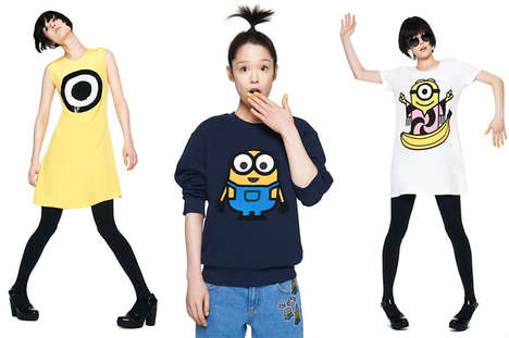 Animated Film Fashion - The Minions Clothing Line Features Despicable Me Characters