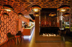 Ambient Lounge Interiors - The Weekend Cocktail Bar Aims to Appeal During Both Day and Night