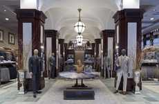 Luxurious Menswear Flagships - The Joseph Abboud Flagship in NYC is the Designer's First