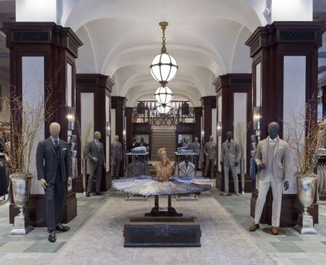 Luxurious Menswear Flagships