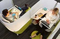 Concentration-Boosting Cubicles - The BrodyWork Lounge is Designed to Boost Focus and Comfort