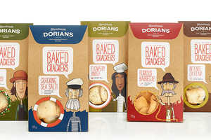This Crackers Packaging is Inspired by the Healthy Brand's Flavors
