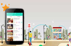 Cost-Cutting Retail Apps - Fashalot Offers Retail Discounts When a Shopper Checks in to the Store