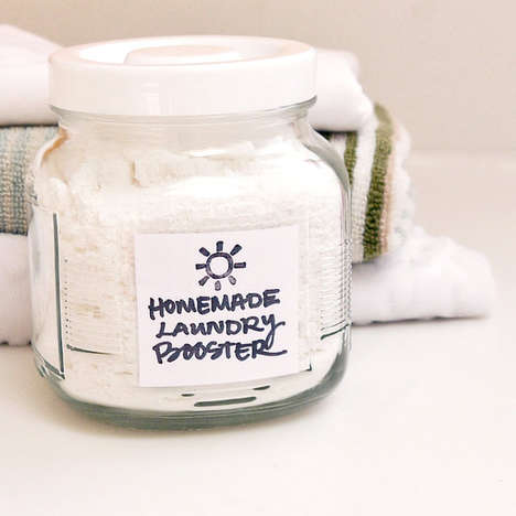 Homemade Laundry Boosters - Pop Sugar's DIY Detergent Tutorials is Freshly Scented and Inexpensive