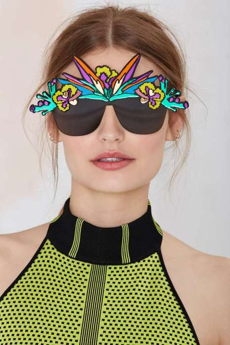 Psychedelic Eyewear Accessories - I Still Love You NYC's Tropical Shades Make One Long for Vacation