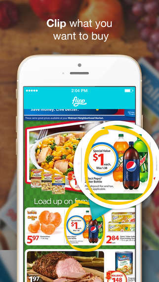 Discount Grocery Apps - Flipp Gives Users Access to Grocery Store Deals and Discounts