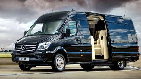Converted Luxury Vans - The Senzati Jet is a Converted Mercedes Sprinter Van