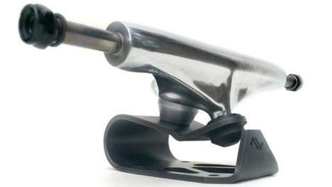 Vibration-Sapping Skateboard Trucks - These Suspension Trucks Allow For a Quicker and Smoother Ride
