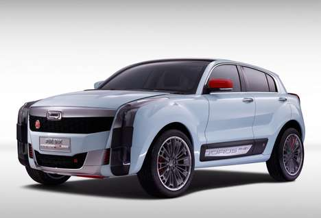 Brutal SUV Concepts - The Qoros 2 SUV PHEV Features an Aggressive, Blocky Design