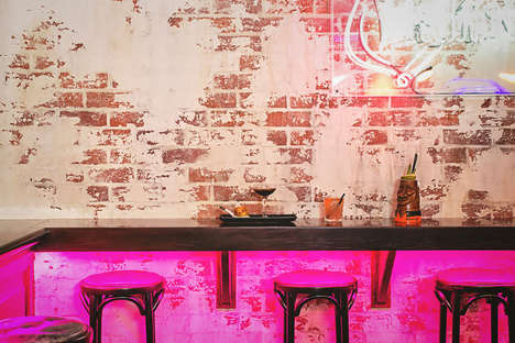 Eclectic Diner-Inspired Lounges - The Smoking Panda Bar in Sydney is a Neon-Tinged Good Time