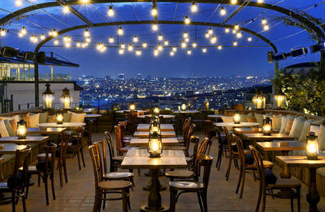 Romantic Clubhouse Interiors - The Recently Opened Soho House Istanbul Considers Historical Context