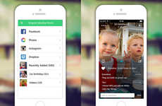 Family Photo-Sharing Apps - Lifecake Lets You Chronicle and Revisit Your Child's Growth Progress