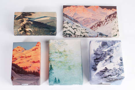 Scenic Wrapping Paper - Etsy's Mountain Printed Gift Wrap is Artistic and Nature-Themed