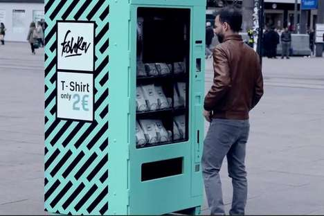 Ethical Vending Machines - Fashion Revolution's Experiment Tests the Allure of Cheap Fashion