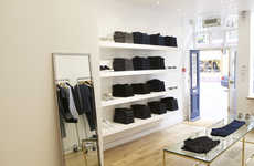 Pristine Denim Boutiques - The New Natural Selection Flagship is a Minimalist Menswear Escape