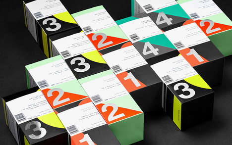 Sports Supplement Packaging - The Nativetech by Siemalab Line Boasts Vibrant Typographic Branding