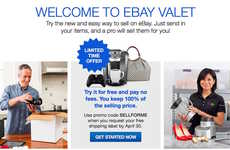 Concierge E-Commerce Platforms - The eBay Valet Service Offers Users Access to Assigned Sellers