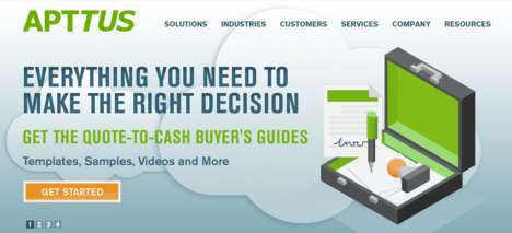 Intuitive Business Platforms - Apttus' Automated Quote-to-Cash Service Simplifies B2B Transactions