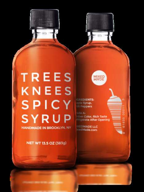 Chile-Infused Maple Syrups - The Vegan Trees Knees Spicy Syrup is the Latest Sweet-Heat Condiment