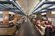 Rustic Retail Marketplaces - This Modern Munich Marketplace Recalls the Charm of the Market Hall