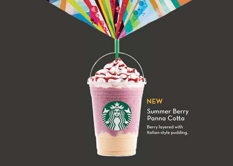 Dessert-Infused Frozen Coffees - The Starbucks Panna Cotta Frappuccino Has Launched in Singapore