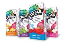 Caffeine-Free Childrens' Teas - Drazil is a Caffeine-Free Kids Tea Infused with Real Fruit Juices