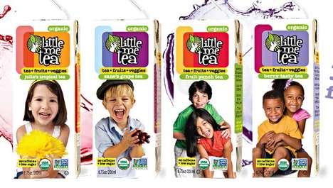 Kid-Friendly Tea Drinks - Little Me Tea Offers a Healthy Beverage Alternative to Juice