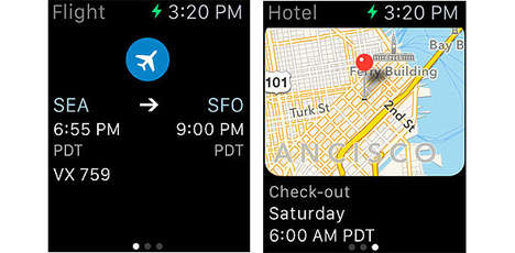 Convenient Travel Apps - The TripIt App is Designed For the Apple Watch