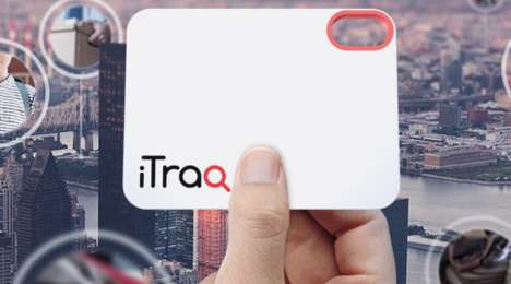 Card-Sized Tracking Devices - The iTraq Helps You Keep Tabs on Possessions, Luggage and Loved Ones
