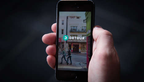 Experiential Tour Apps - Detour Lets You Explore Cities with Story-Based Location-Aware Audio Walks