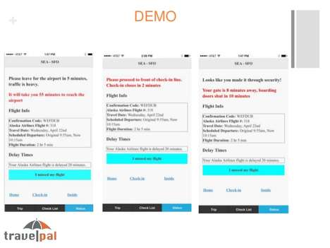 Orderly Flight Apps - Travel Pal Uses Beacon Technology to Streamline the Travel Process
