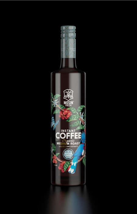 Exotic Coffee Concentrates - Mosin Fresh's Liquid Concentrate Embraces Its Tropical Origins
