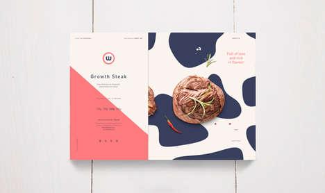 Feminine Steak Boxes - W Steak for Kids Appeals to Mothers Seeking High-Protein Meals