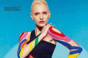 Elle Bulgaria's New Exclusive Boasts Fashionable Fitness Wear