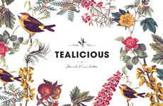 Botanical Tea Branding