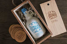 Doodled Beer Branding - Brewberry Packaging is Gushing with Whimsicality Through Colors and Graphics