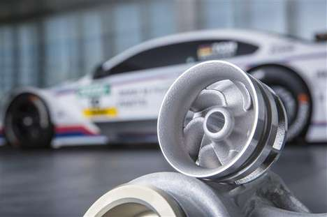 Printed Automotive Wheels - BMW is Revving Up for the DTM with 3D-Printed Race Car Parts