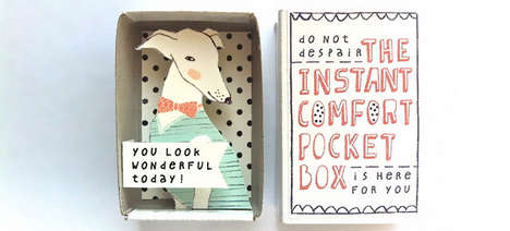 Sentimental Matchbox Greetings - Etsy's Kim's Little Monsters Shop Creates Artistic Keepsakes