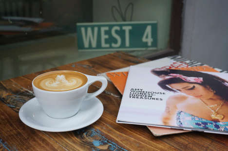Cosmopolitan Espresso Bars - 'West 4' is a Moscow Coffee Bar is Inspired by Manhattan