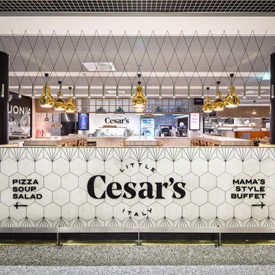 Airport Food Halls - This Helsinki Airport Restaurant is Almost a Vacation in Itself