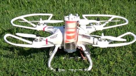 Drone Parachutes - The SmartChutes Parachute Systems Gives Drones a Safe Landing