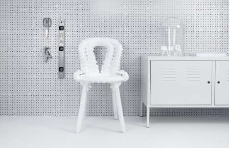 3D-Printed Chairs - The Chairgenics Project Uses Additive Manufacturing to Make a Universal Seat