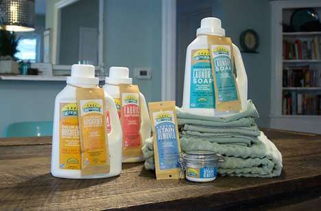 Waste-Free Clothing Cleaners - MyGreenFills Sells Zero Waste Eco-Friendly Cleaning Products