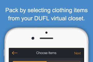 DUFL Cleans Clothes, Packs and Ships a Traveler's Suitcase