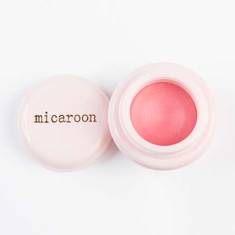 Macaron-Inspired Makeup - Micaroon's Cute Cosmetic Packaging Resembles Tiny Macarons