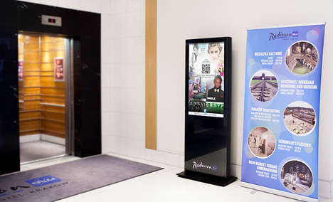Digital Reading Stations - PressPad Lounge Loans Digital Magazines to Mobile Devices