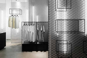 This Stockholm Retail Design is an Elegant Whiteout Experience