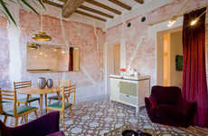 Unconventional Luxury Hotels - The G-Rough Hotel in Rome References Italy's Rich Artistic History